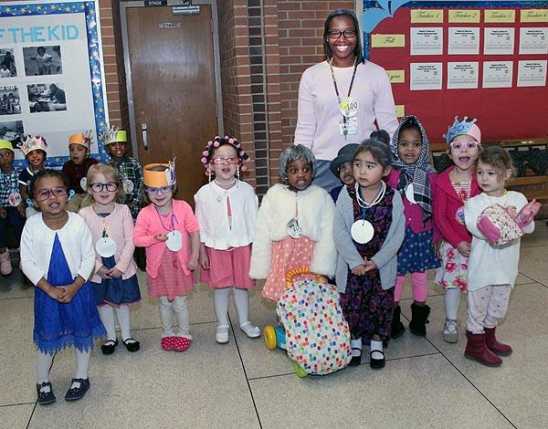 Willoughby Early Childhood celebrates 100th day of school year.