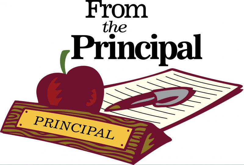 PRINCIPAL'S  WELCOME LETTER