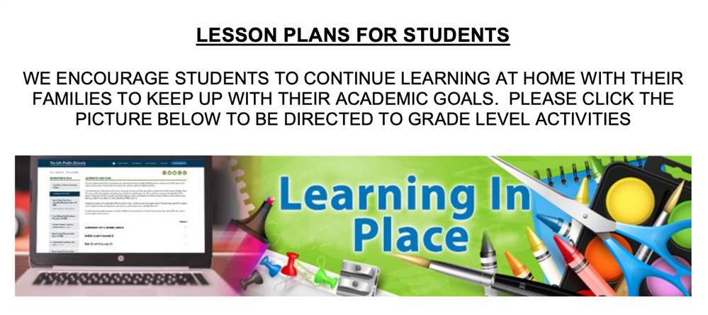 Learning In Place Lessons
