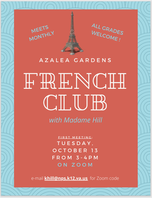 Join the French Club!