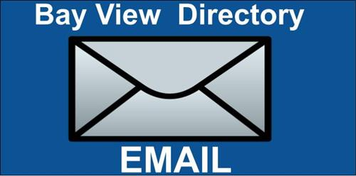 Bay View Staff Email DIrectory