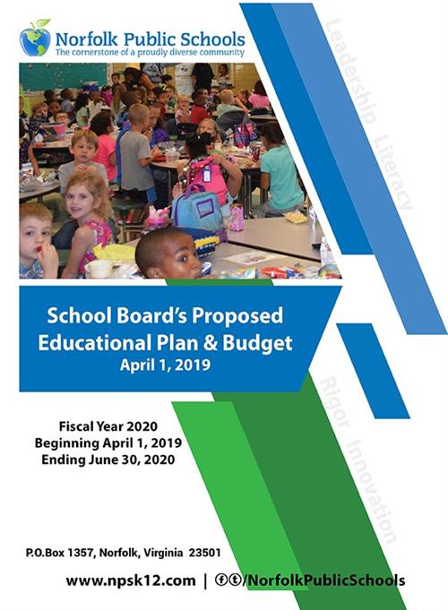 School Board's Proposed Educational Plan & Budget April 1, 2019
