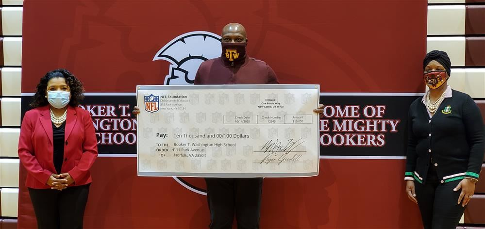 NPS HS Awarded Generous Grant from National Football League