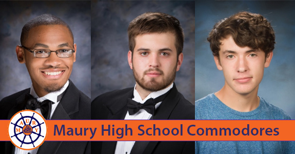 Three Maury students, one perfect ACT and $480,000 in scholarships