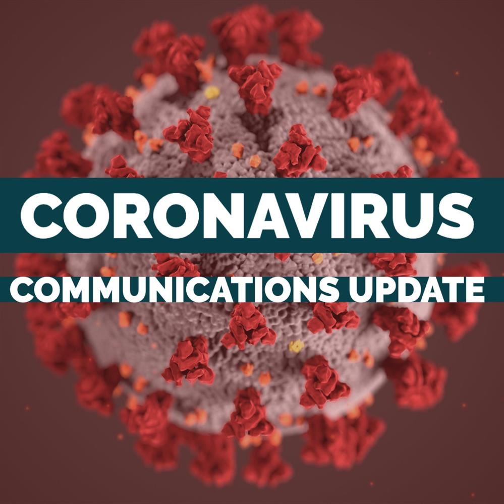 Coronavirus Communications Update