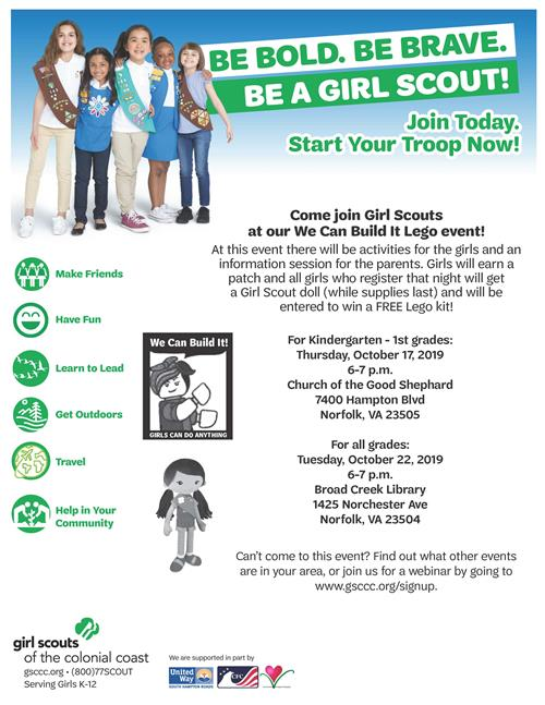Girls Scouts Event