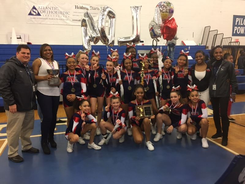 ADL wins middle school cheering competition