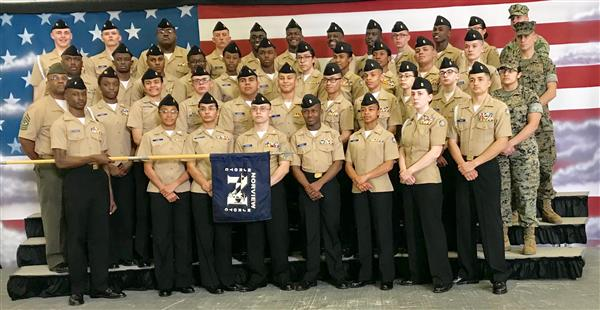 Norview High's NJROTC wins Navy National awards