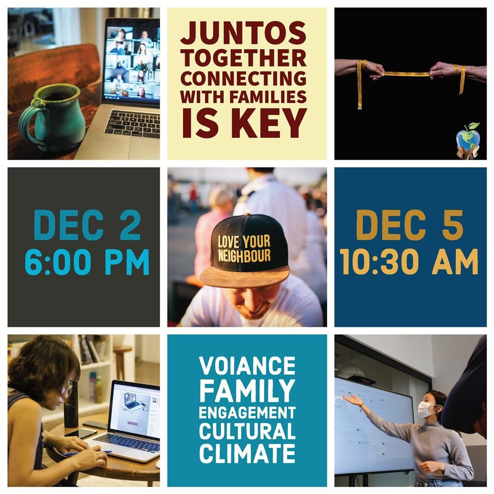 Juntos-Together Virtual Chat: Connecting With English Learner Families