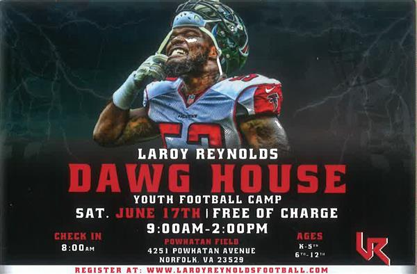 "Larry Williams ""DAWG HOUSE"" Youth Football Camp"