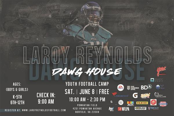 Laroy Reynolds Youth Football Camp