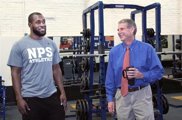 Maury High School athletes will now have access to a new state-of-the-art weight room with high-tech equipment