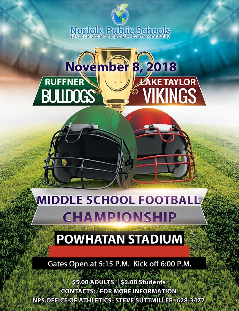 Middle School Football Championship