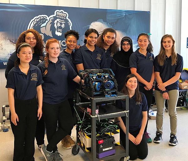 MATE ROV Mid-Atlantic Underwater Robotics Competition