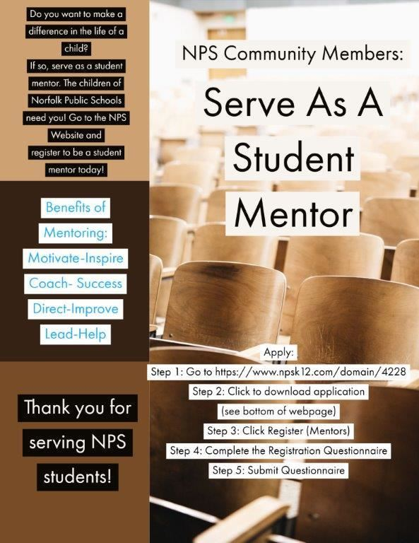 Serve As A Student Mentor