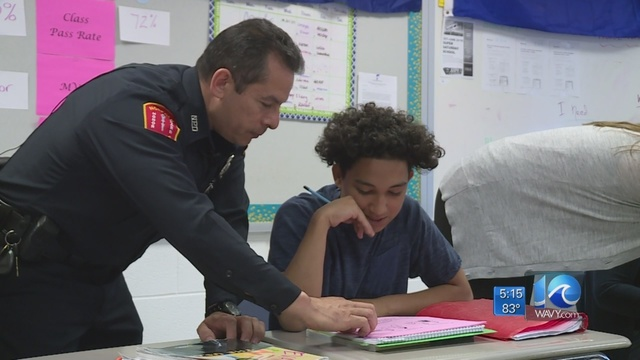 Norfolk PD supports ESL efforts in Norfolk Public Schools