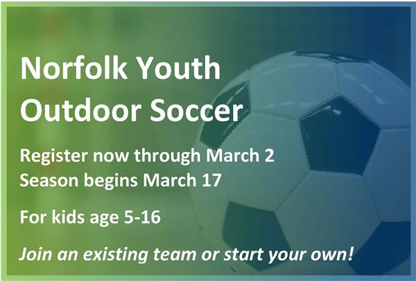 Norfolk Youth Outdoor Soccer