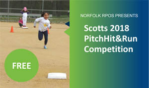Pitch Hit & Run Competition Wednesday, April 4, 2018