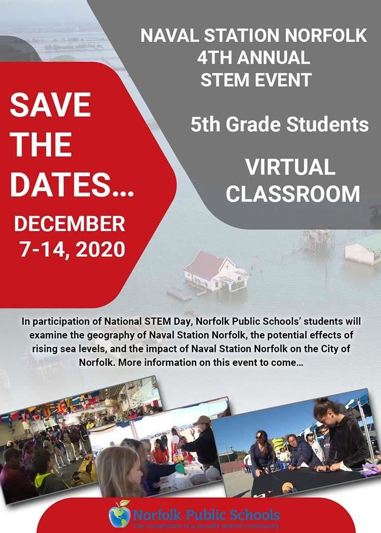 NPS' 5th Grade Students to Participate in Virtual STEM Day Event this December