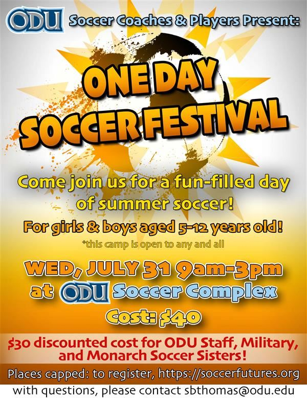 One Day Soccer Festival