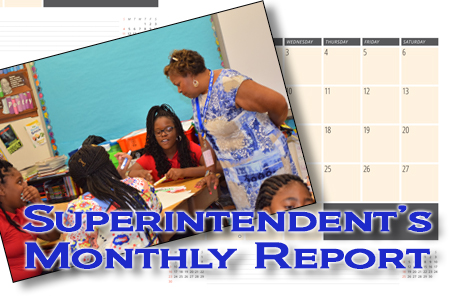 Superintendent's Monthly Report