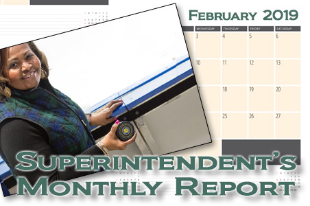 February Superintendent's Monthly Report