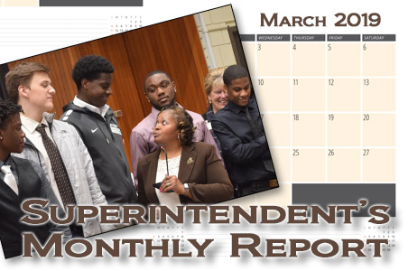March Superintendent's Monthly Report