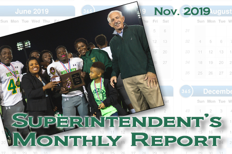November Superintendent's Monthly Report
