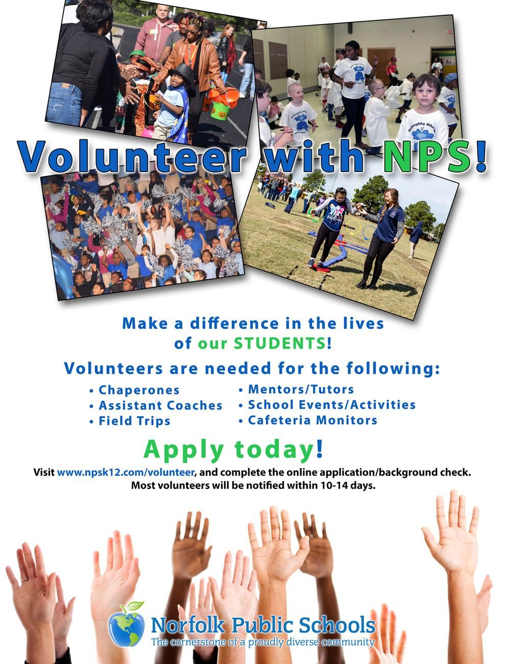 Volunteer With Norfolk Public Schools
