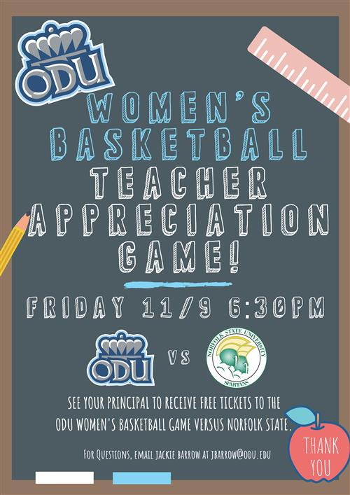 Womens Basketball Teacher Appreciation Game