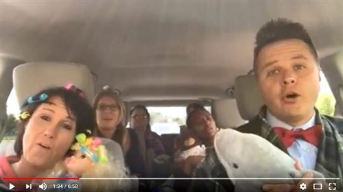 Carpool Karaoke Comes to Ocean View Elementary