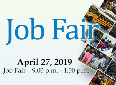 Job Fair | April 27, 2019