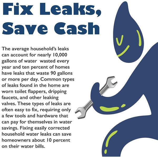 Fix Leaks, Save Cash