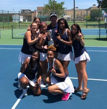 Maury celebrates 5A regional championships in Tennis and Track