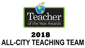 NPS salutes the 2018 All-City Teaching Team