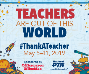 NPS' Teacher Appreciation Week, May 6-10