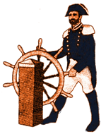 Commodore at Wheel