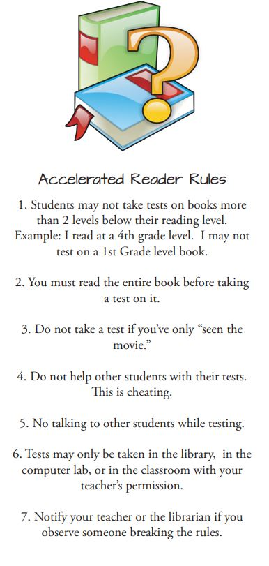 Overview AR Accelerated Reader
