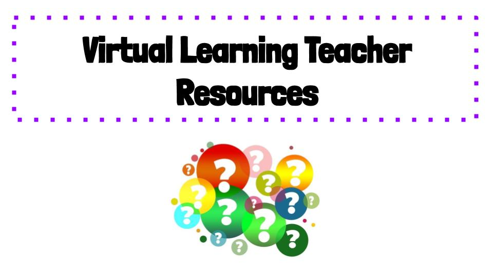 Teacher Resource Links