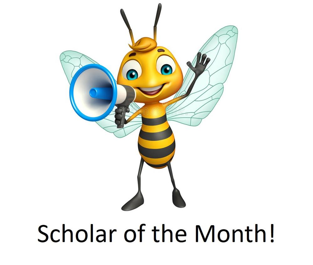 Scholar of the Month!