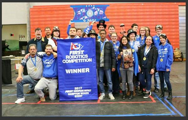 Robotics Team Picture Competion 2017