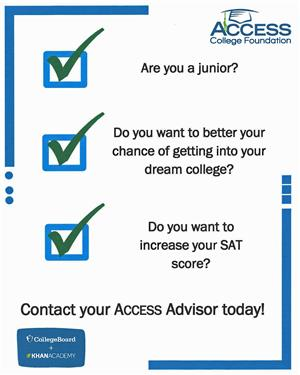 ACCESS Call to Juniors
