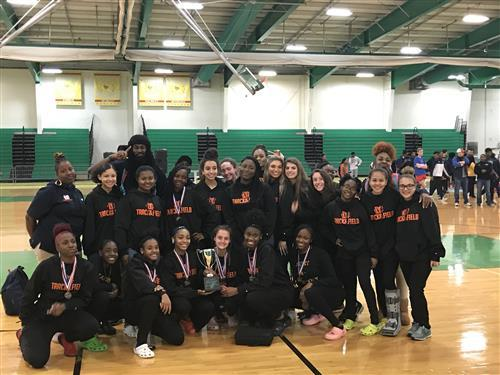 Maury Girls Indoor Track Team