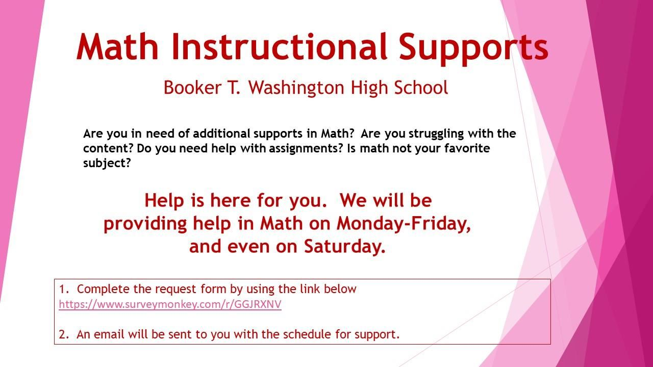 math instructional support