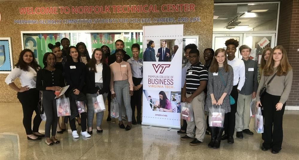 FBLA Students Attend VA Tech's Business Exploration Conference