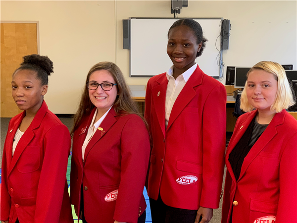 FCCLA Installation of Officers at NTC