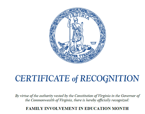 Family Involvement in Education Proclamation