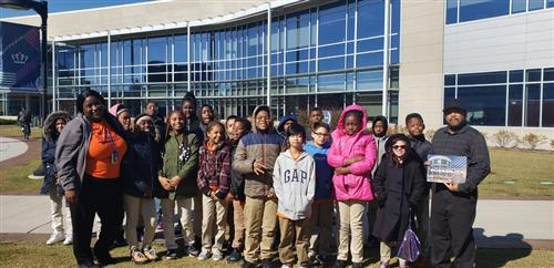 Lake Taylor School Visits Old Dominion