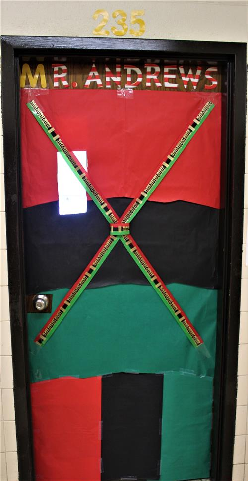 Mr. Andrews door