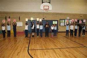 Crossing guard for Jacox and Blair named Crossing Guard of the Year
